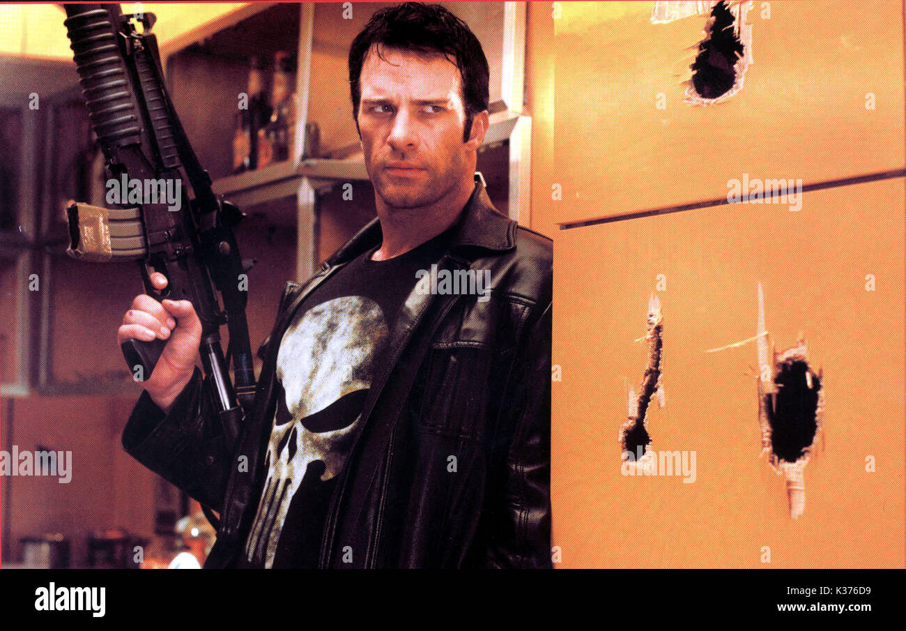 The Punisher Thomas Jane Picture From The Ronald Grant Archve Stock