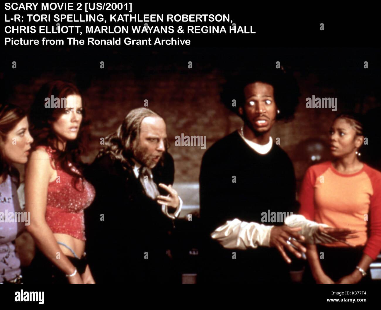 scary movie 2 2001 tori spelling stock photos amp scary