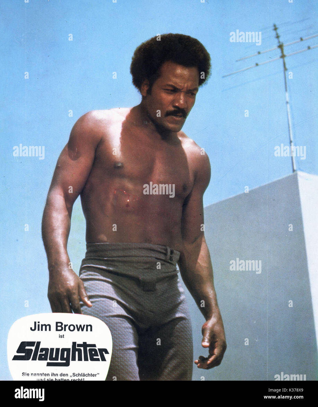 Jim Brown Slaughter >> Slaughter Jim Brown Date 1972 Stock Photo 156897953 Alamy