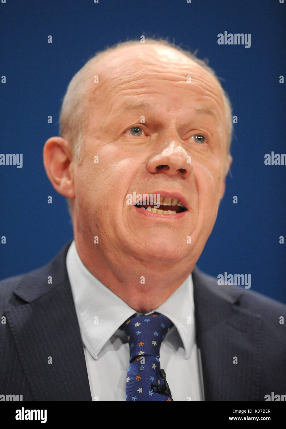 Photo Must Be Credited ©Alpha Press 079965 04/10/2016 Damian Green Conservative Party Conference 2016 At The Birmingham ICC - Stock Image