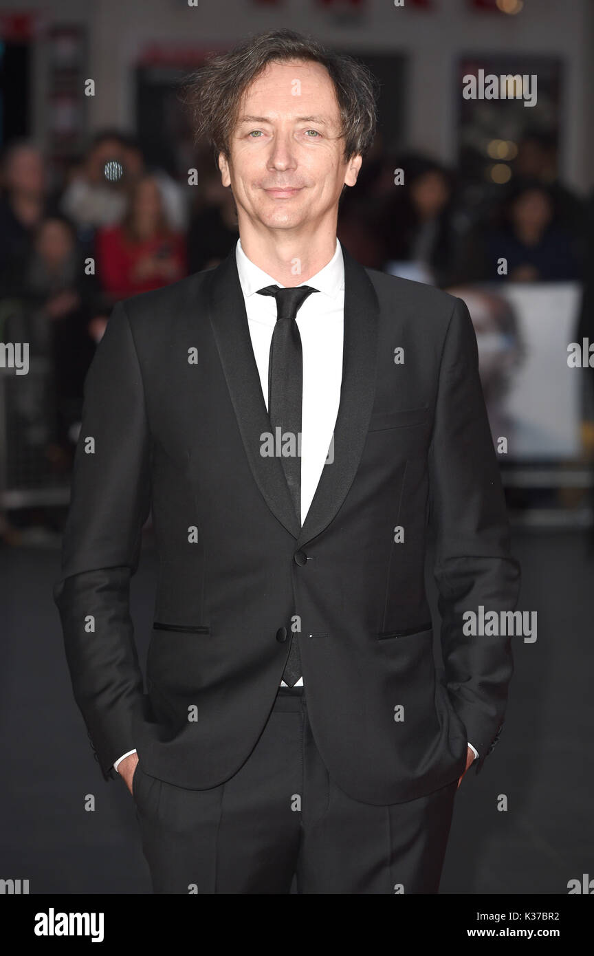 Photo Must Be Credited ©Alpha Press 079965 12/10/2016 Volker Bertelmann at the Lion American Express Gala screening during the 60th BFI London Film Festival at Odeon Leicester Square in London. - Stock Image