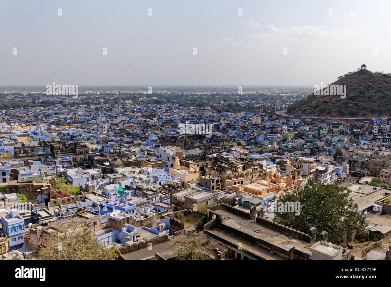 Bundi, India. Landscape. - Stock Image