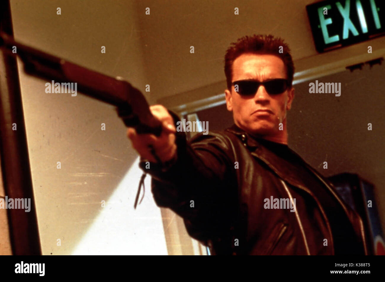 c0db09673c TERMINATOR 2 JUDGEMENT DAY ARNOLD SCHWARZENEGGER Date  1991 Stock ...