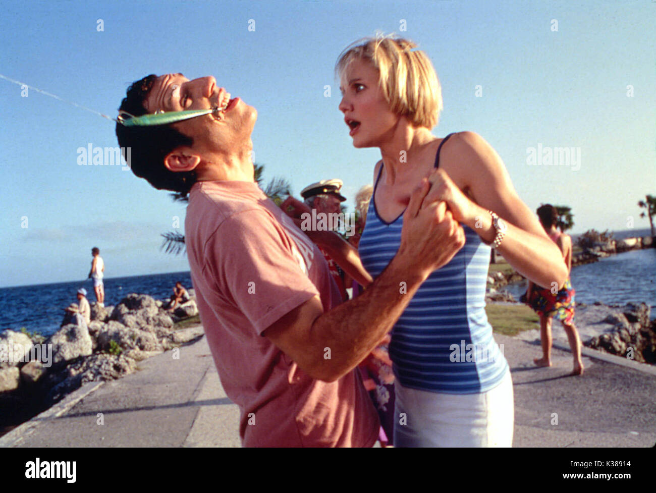THERE'S SOMETHING ABOUT MARY (US1998) BEN STILLER, CAMERON DIAZ     Date: 1998 - Stock Image