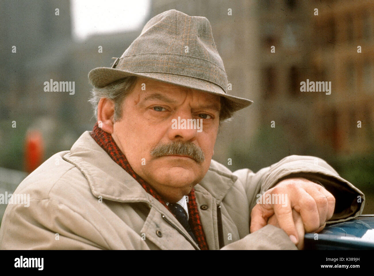 TOUCH OF FROST YORKSHIRE TELEVISION DAVID JASON Stock Photo