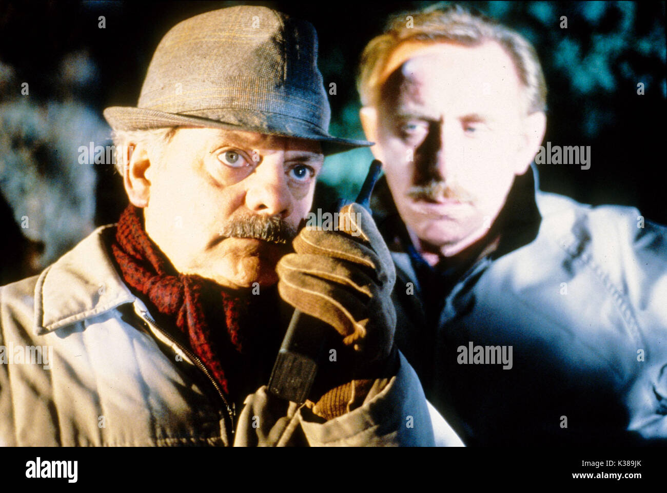 TOUCH OF FROST YORKSHIRE TELEVISION DAVID JASON, left - Stock Image