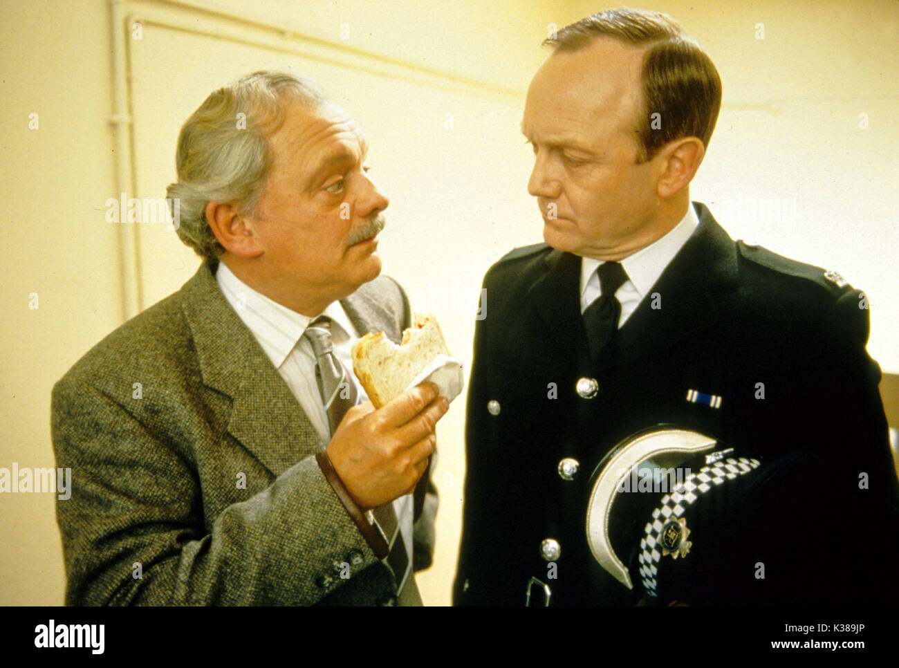 TOUCH OF FROST YORKSHIRE TELEVISION DAVID JASON, BRUCE ALEXANDER - Stock Image