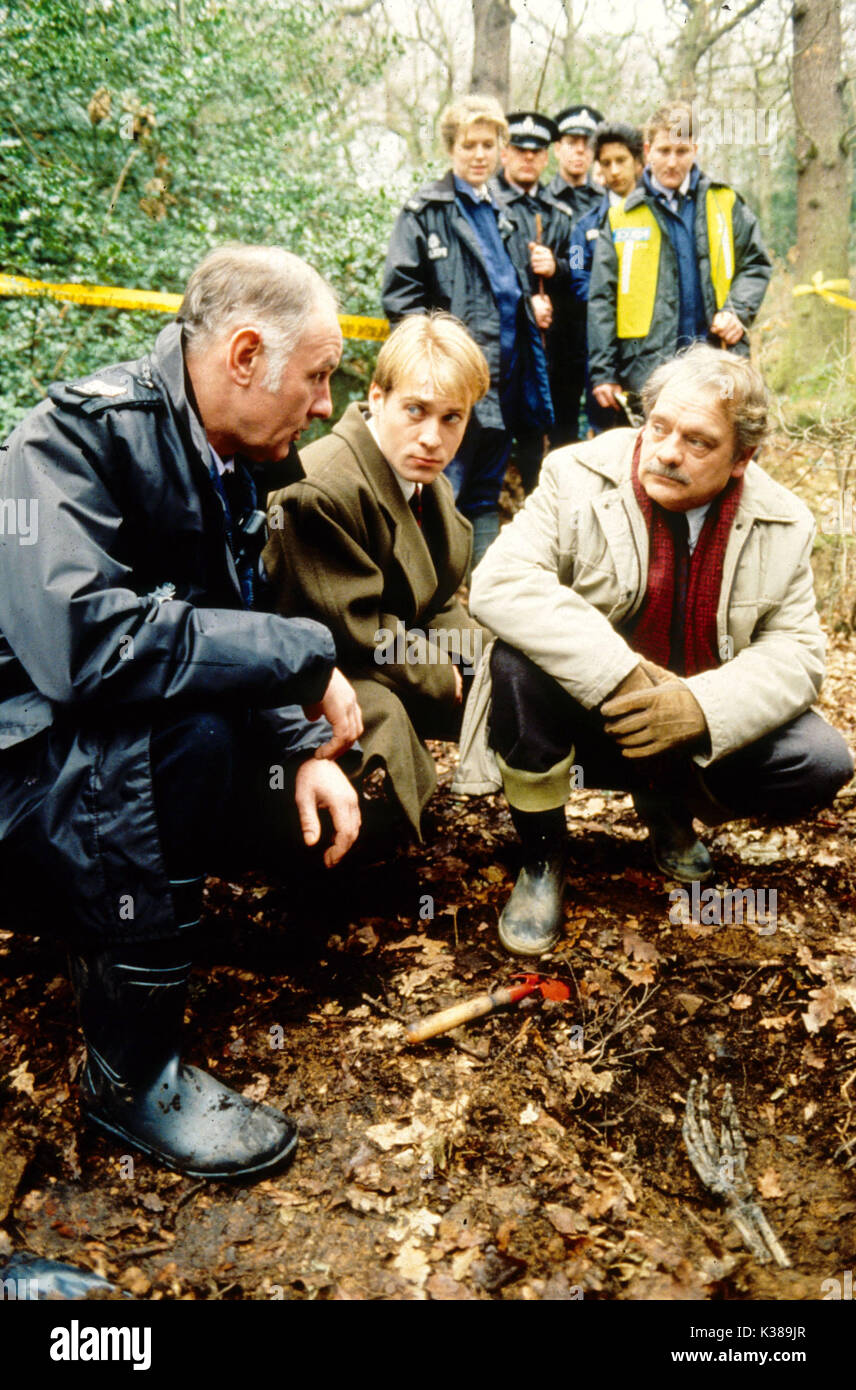 TOUCH OF FROST YORKSHIRE TELEVISION DAVID JASON right - Stock Image