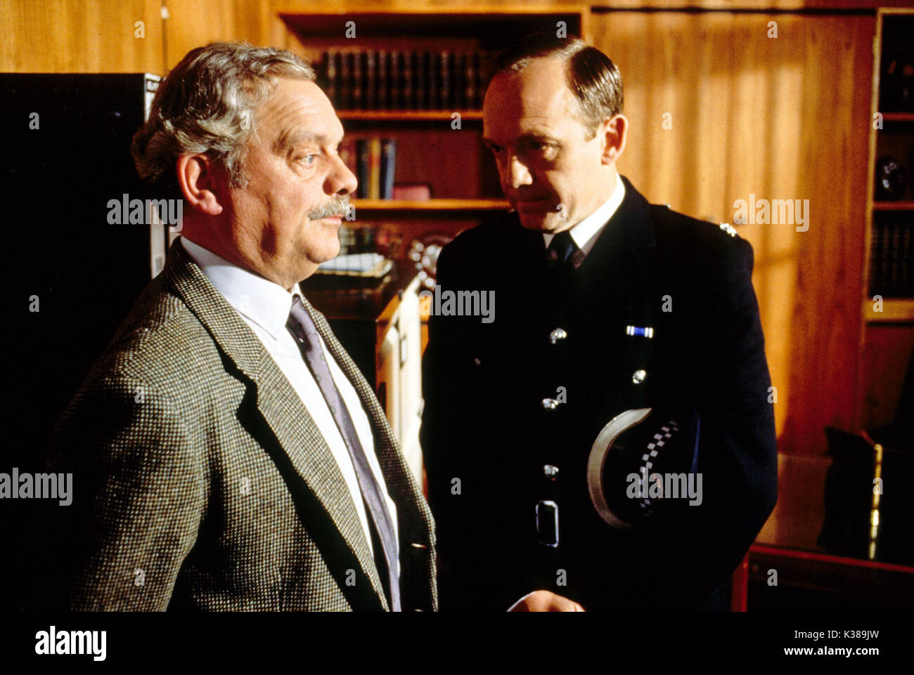 TOUCH OF FROST YORKSHIRE TELEVISION DAVID JASON, BRUCE ALEXANDER Stock Photo