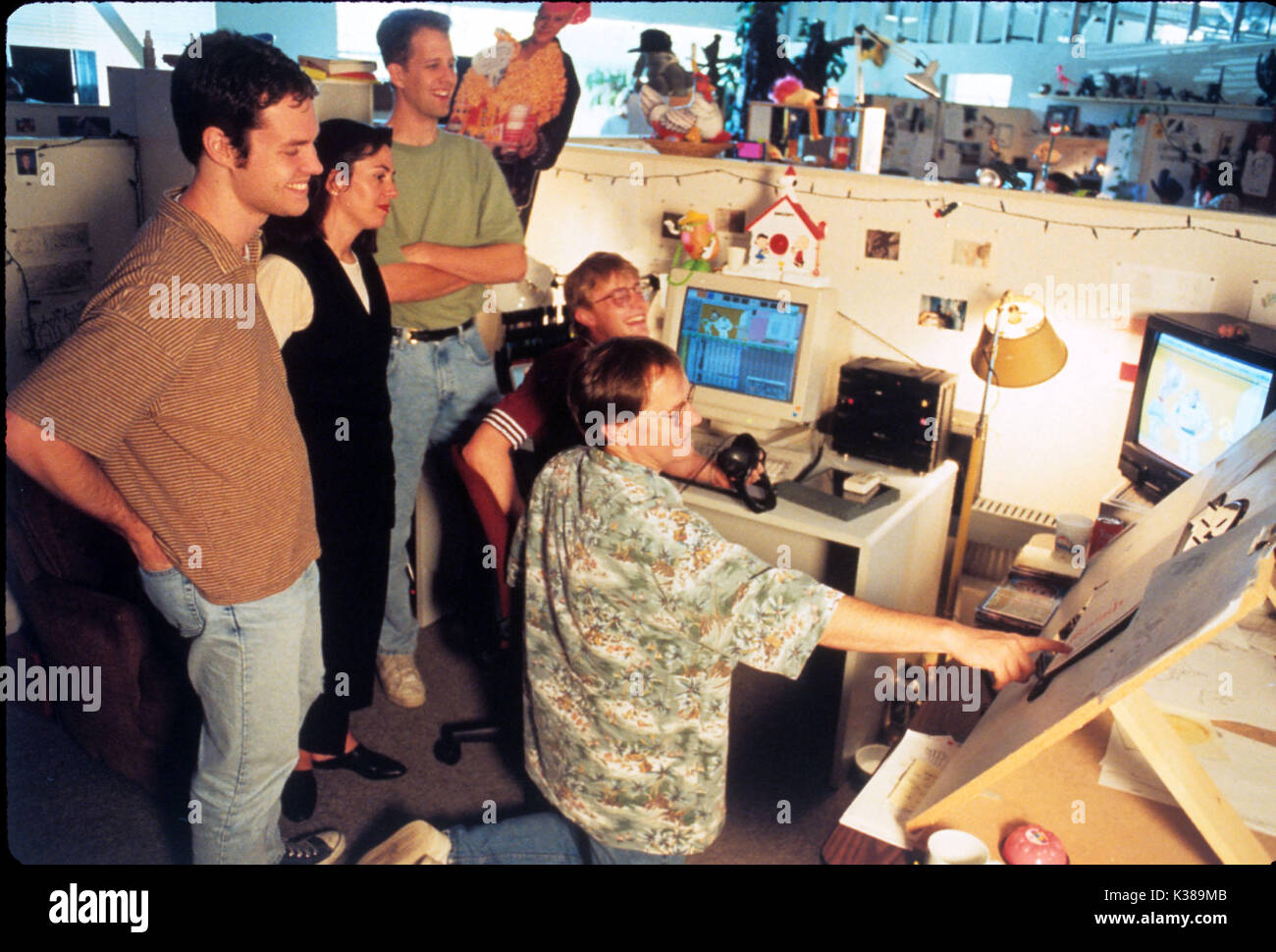 TOY STORY PIXAR/WALT DISNEY FI ANIMATION CG PICTURE FROM THE RONALD GRANT ARCHIVE TOY STORY PIXAR/WALT DISNEY FI ANIMATION CG     Date: 1995 - Stock Image
