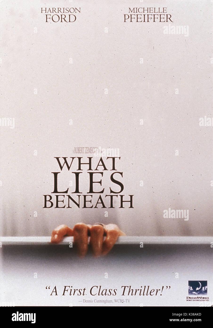What Lies Beneath Stock Photo Alamy