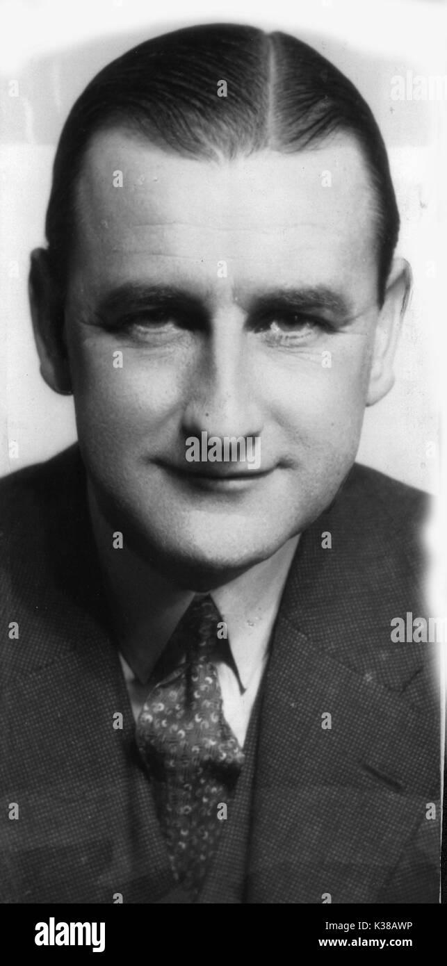 HERBERT WILCOX CIRCA 1934 PORTRAIT - Stock Image