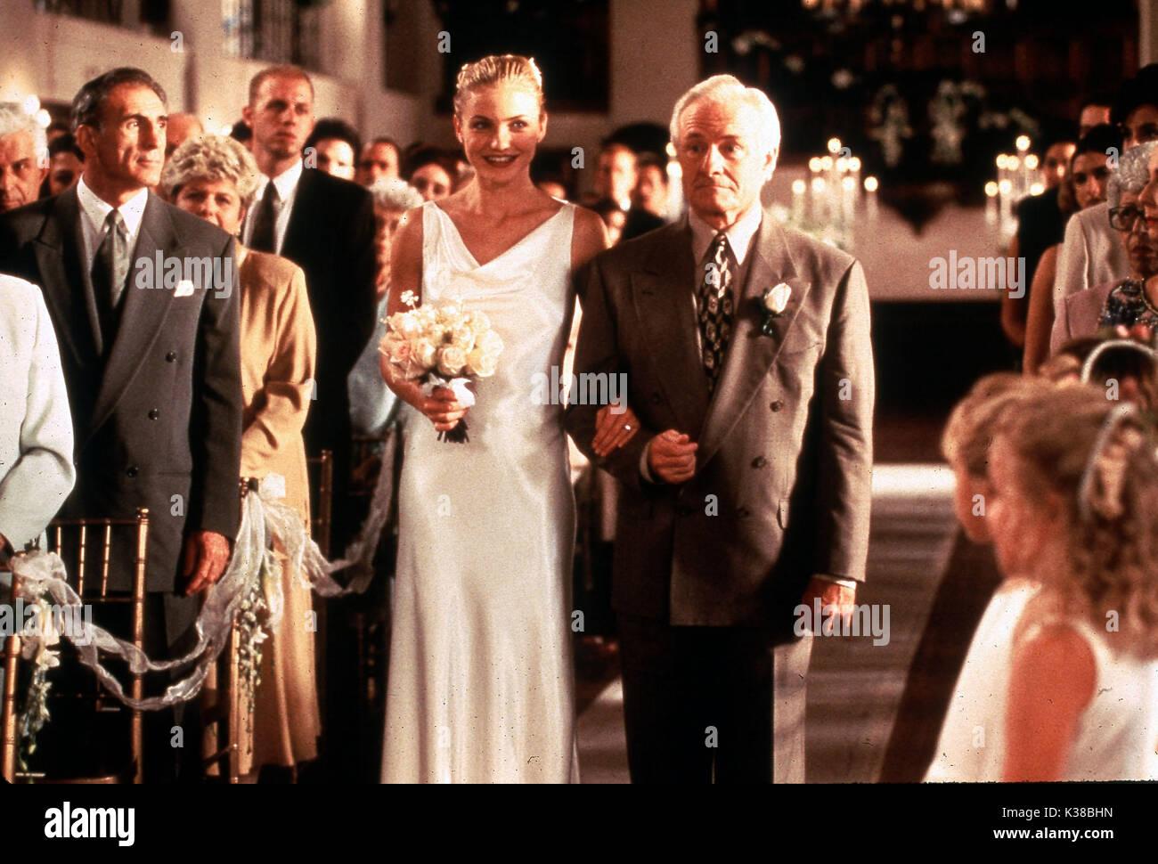 Very Bad Things Cameron Diaz Wedding Aisle Date 1998 Stock Photo