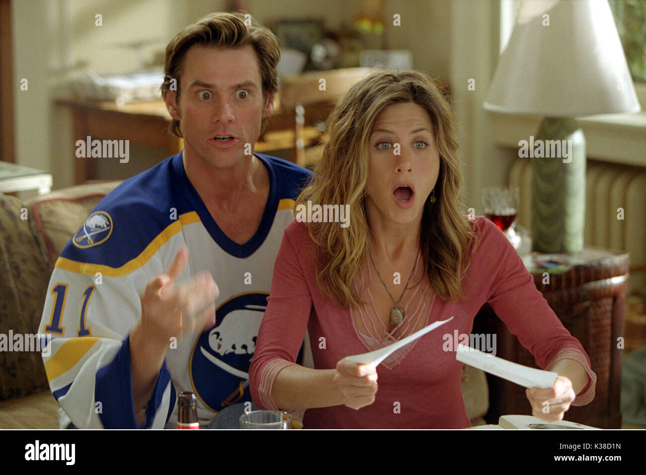 Bruce Almighty Jim Carrey And Jennifer Aniston Director Tom