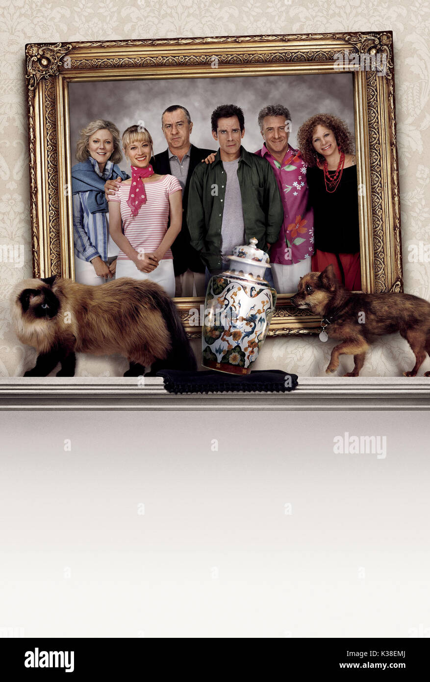MEET THE FOCKERS POSTER     Date: 2004 - Stock Image