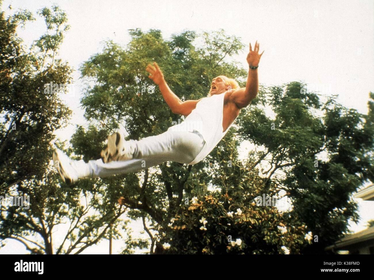SUBURBAN COMMANDO HULK HOGAN DIRECTOR: BURT KENNEDY NEW LINE CINEMA     Date: 1991 - Stock Image