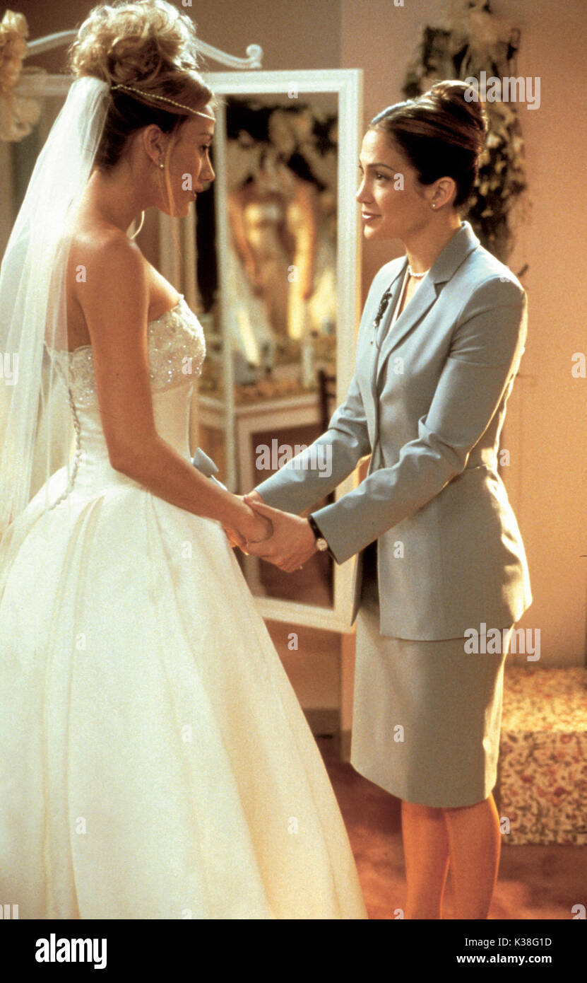 b8a1b80ec145 WEDDING PLANNER [GER/US/2001] ? POSSIBLY NATALIE JAROSZYK,as 'Crying Bride'  AND JENNIFER LOPEZ SUBJECT: BRIDES, COLD FEET, PEP TALK Date: 2001