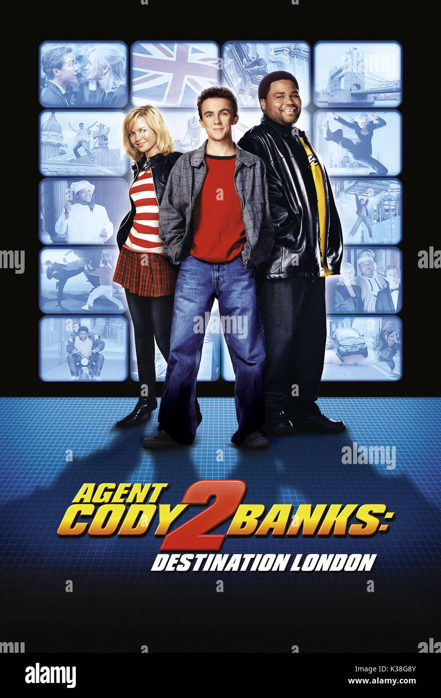 Agent Cody Banks 2 Destination London Posters Metro Goldwyn Mayer Picture From The Ronald Grant Archive