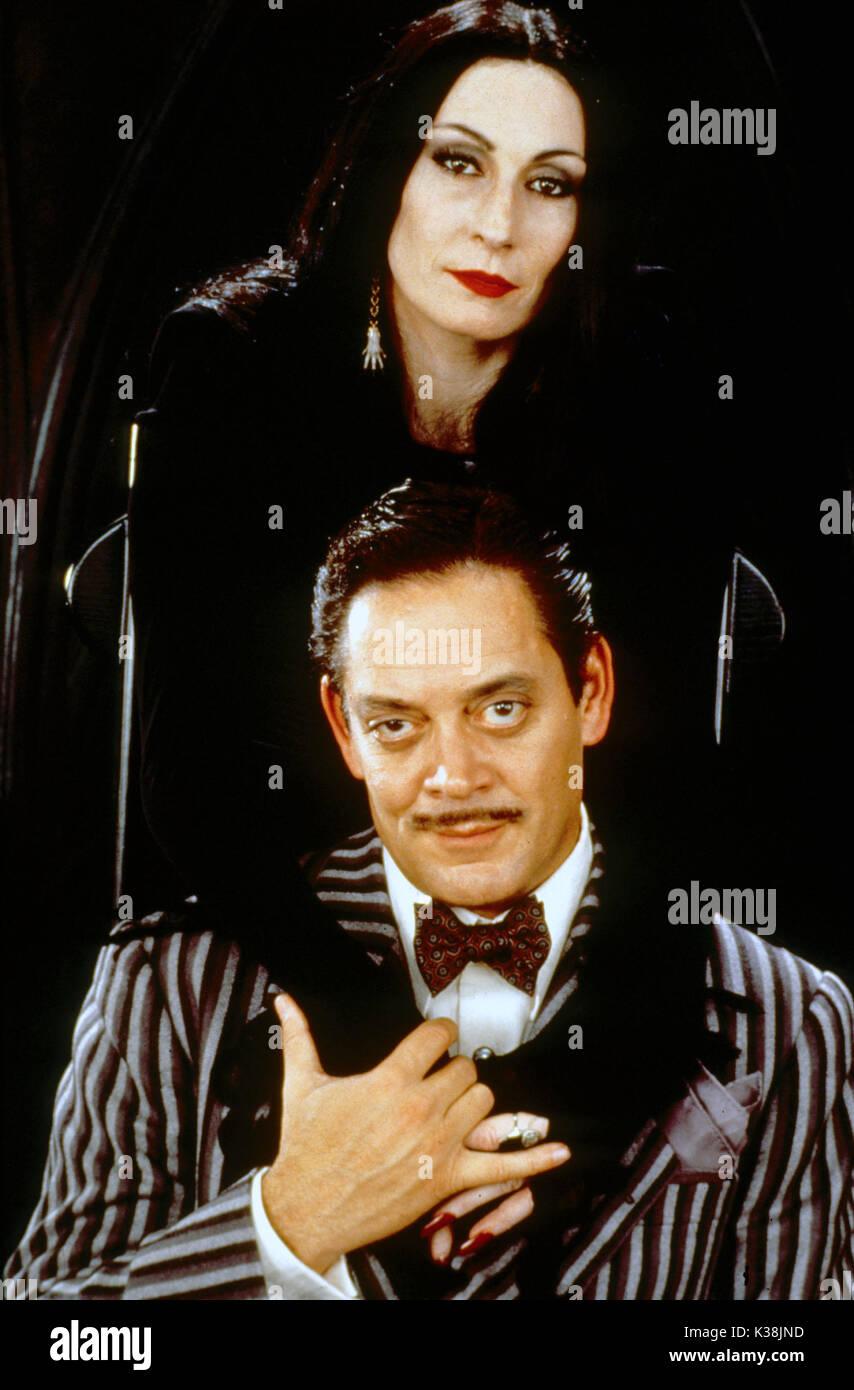 Morticia gomez addams and Gomez Addams
