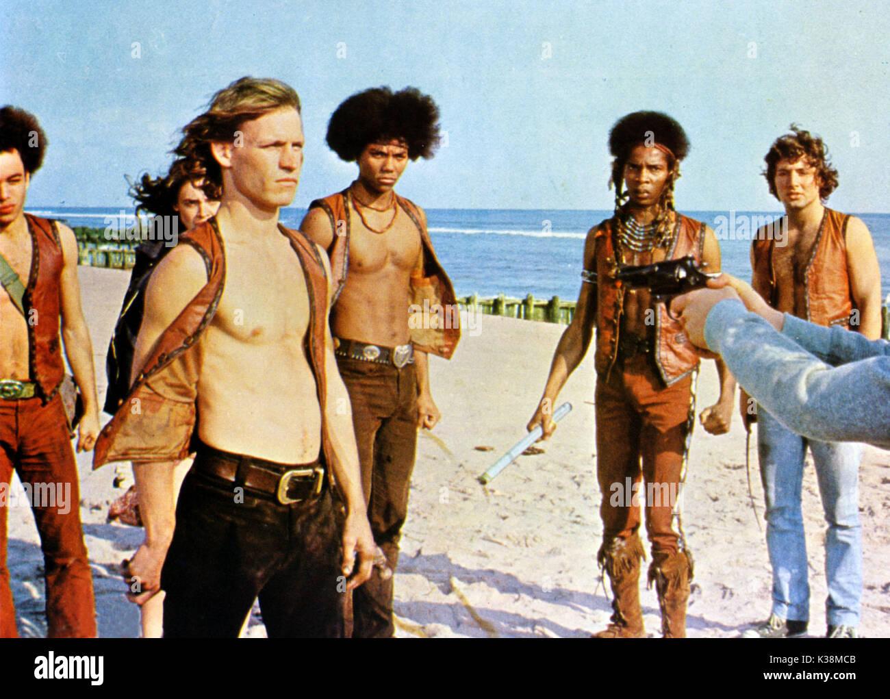 THE WARRIORS [?], DEBORAH VAN VALKENBURGH, MICHAEL BECK, BRIAN TYLER, DAVID HARRIS, [?] - Stock Image