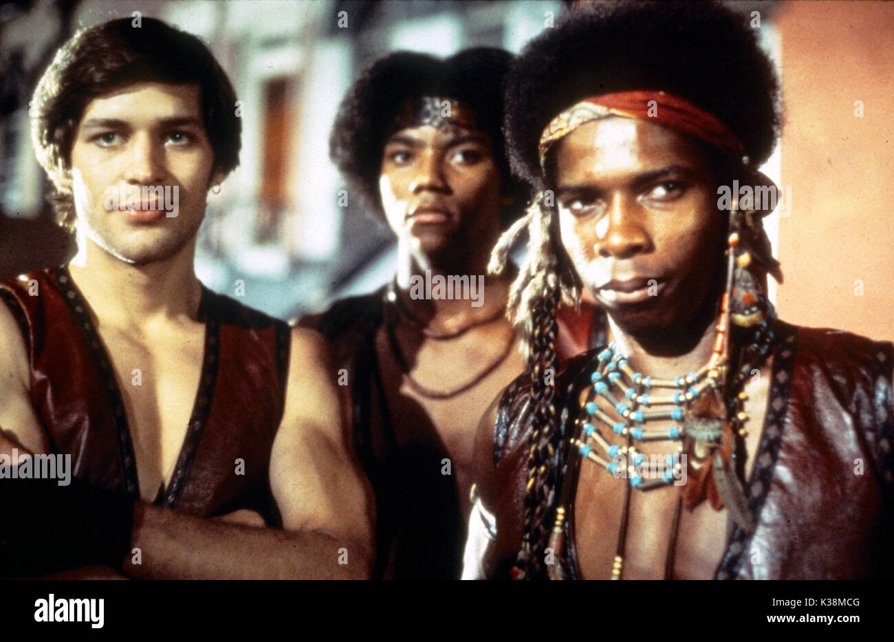 THE WARRIORS JAMES REMAR, BRIAN TYLER, DAVID HARRIS     Date: 1979 Stock Photo