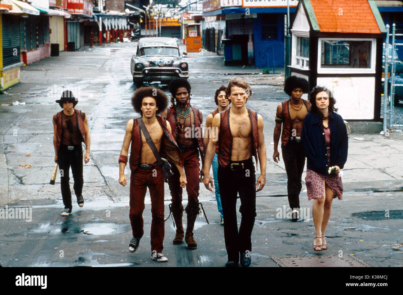 THE WARRIORS [?], [?], DAVID HARRIS, [?], MICHAEL BECK, BRIAN TYLER, DEBORAH VAN VALKENBURGH - Stock Image