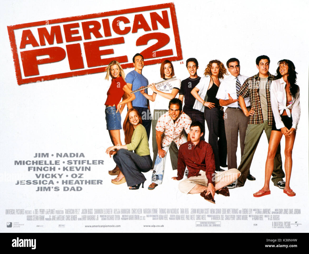 American Pie Nadia Scene Unrated american pie 2 stock photos & american pie 2 stock images