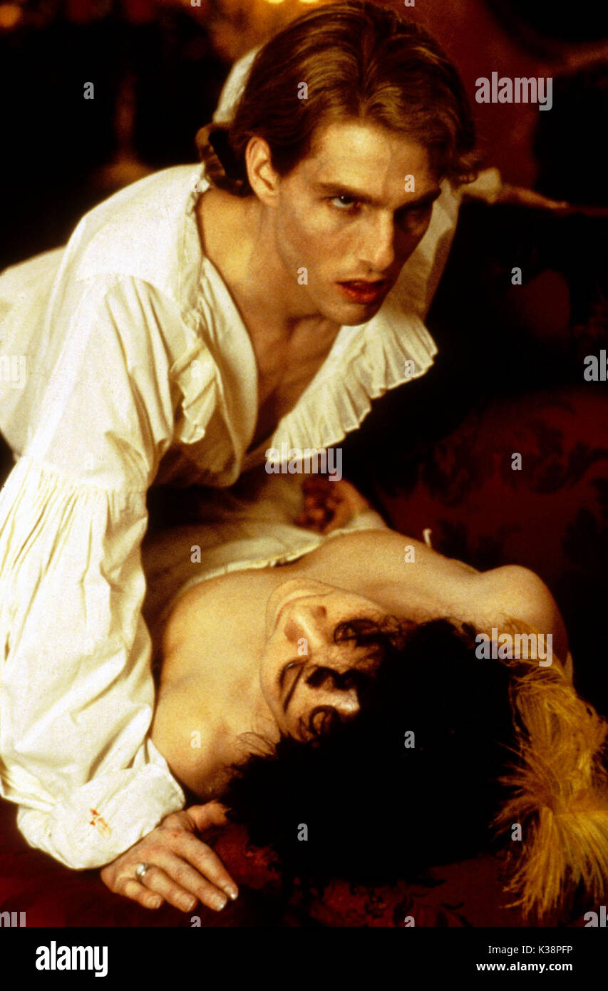 Interview With The Vampire The Vampire Chronicles Tom Cruise Stock Photo Alamy