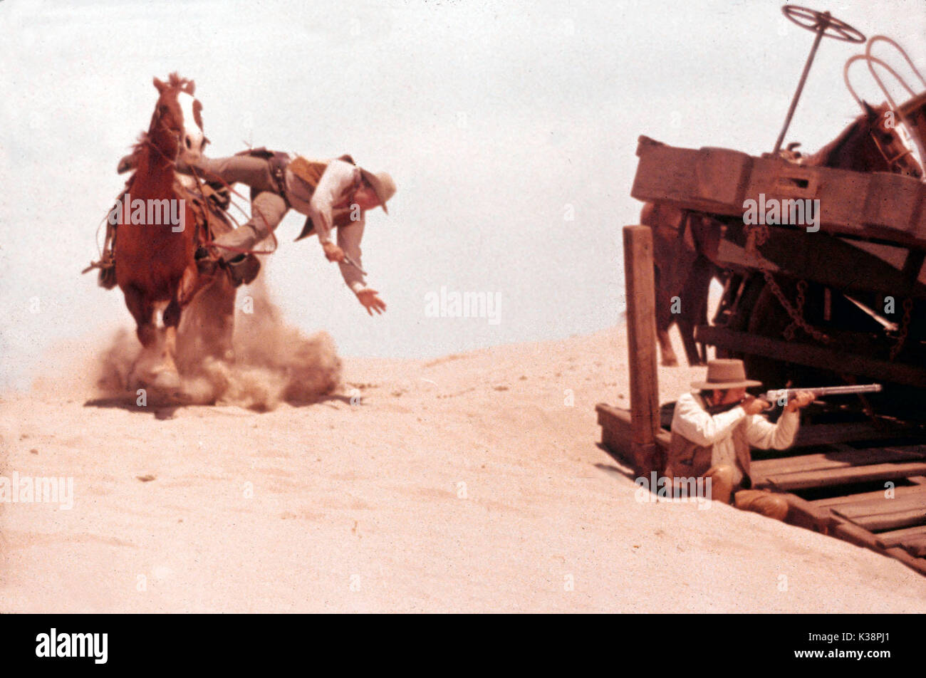 THE TRAIN ROBBERS      Date: 1973 - Stock Image