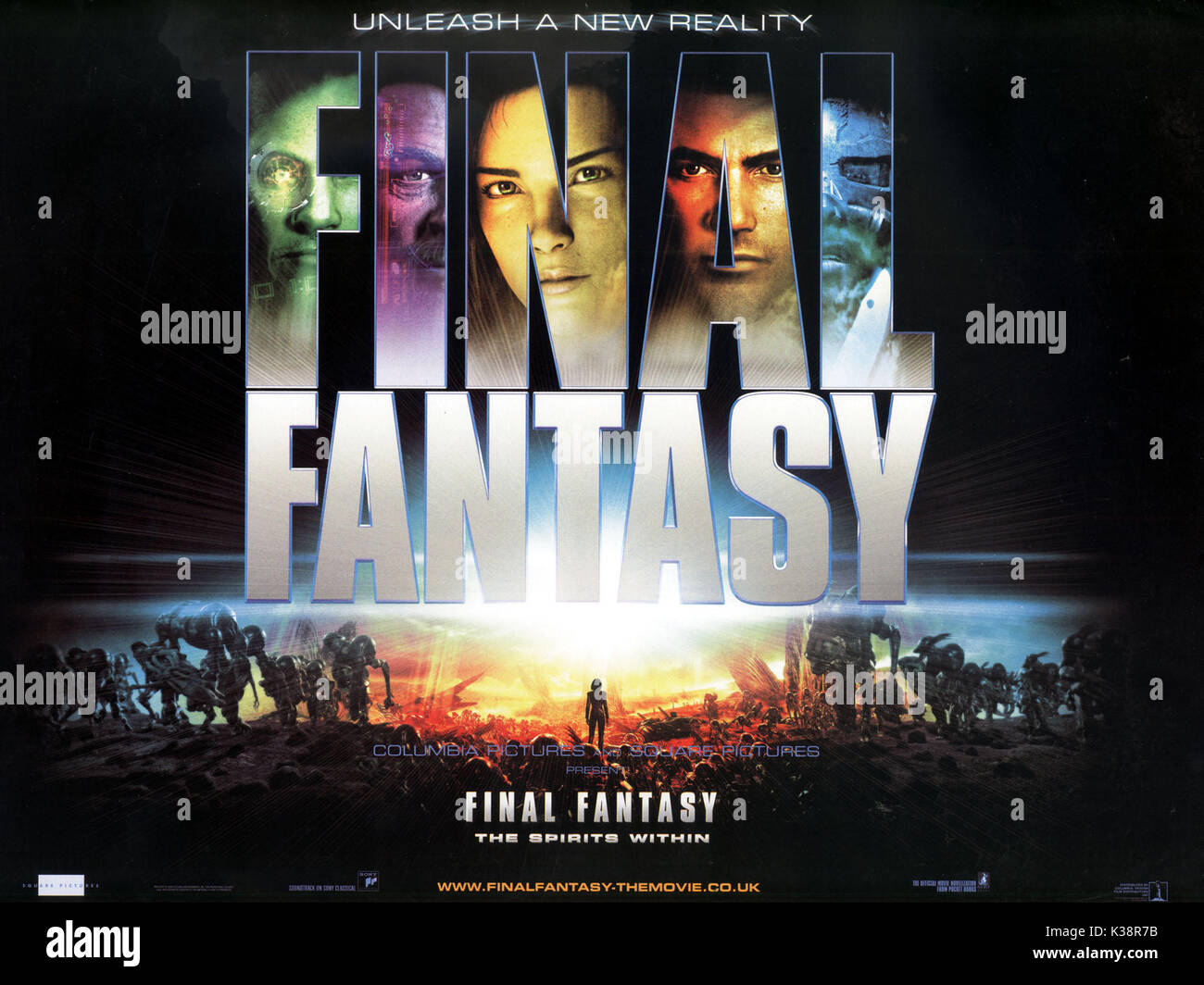FINAL FANTASY: THE SPIRITS WITHIN      Date: 2001 - Stock Image