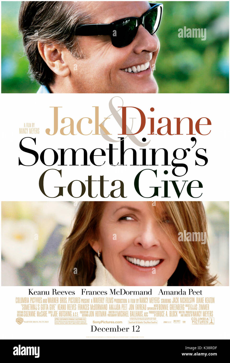 SOMETHING'S GOTTA GIVE [US 2003]     Date: 2003 - Stock Image