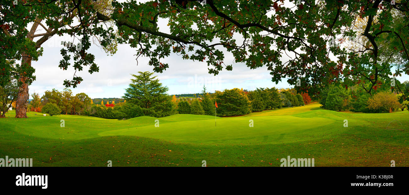 Golf course Orange N.S.W Australia - Stock Image