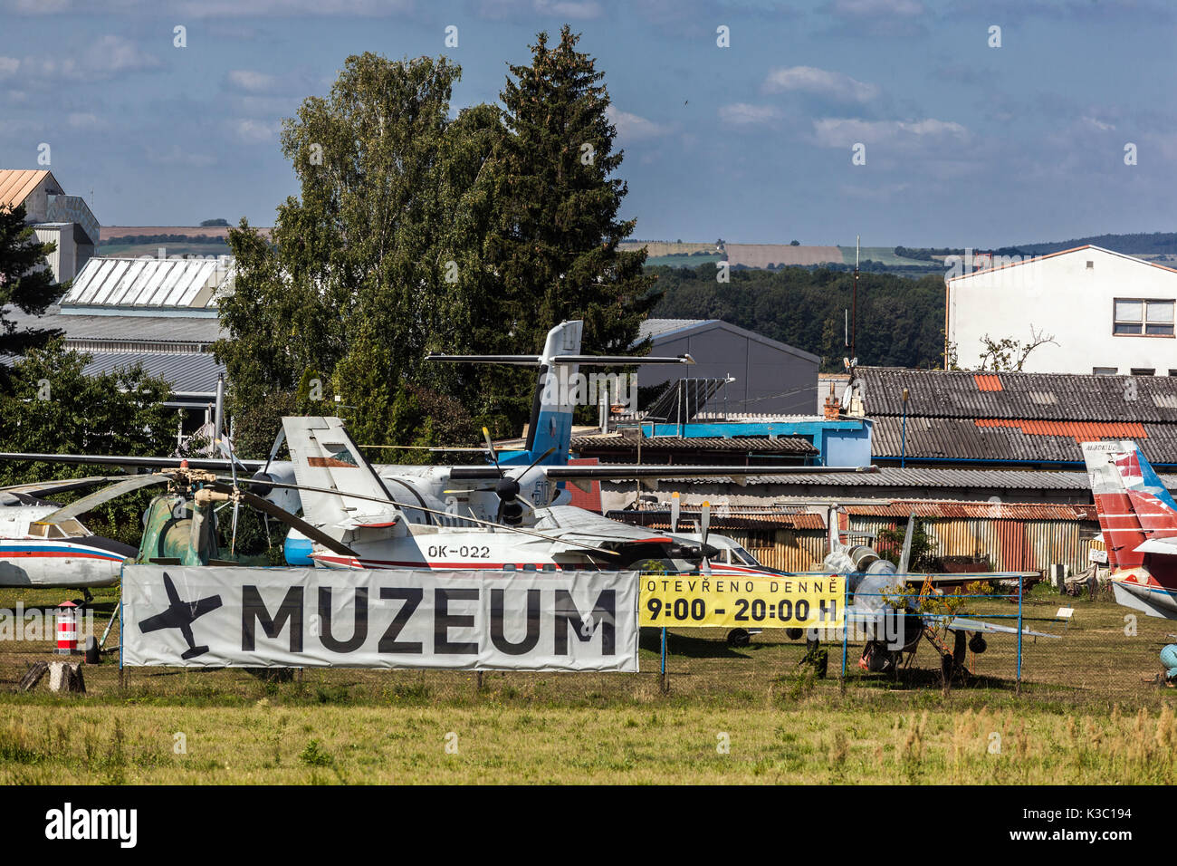 Aviation Museum, Kunovice, Czech Republic - Stock Image