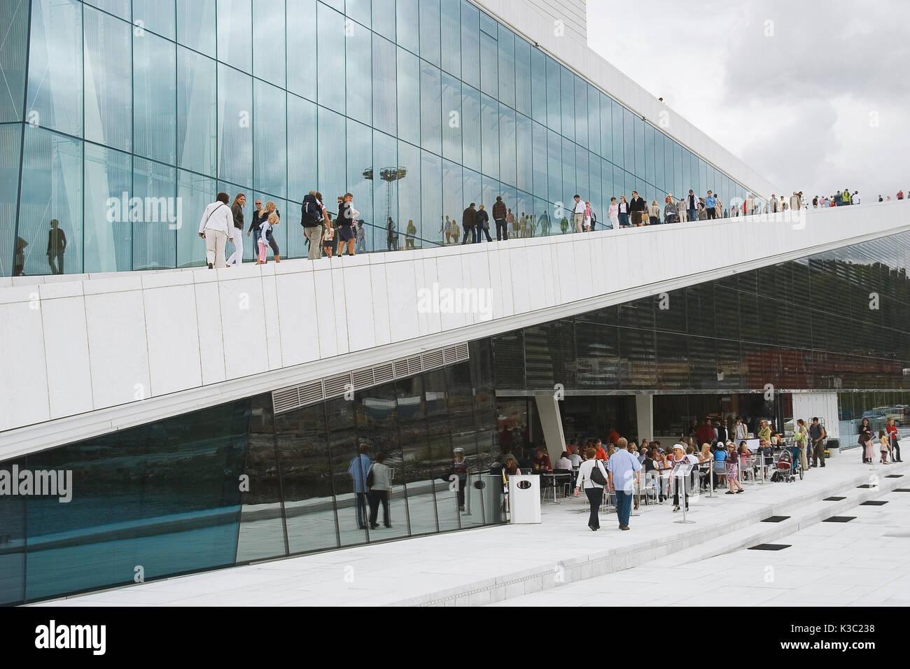 Operahuset Oslo - Stock Image