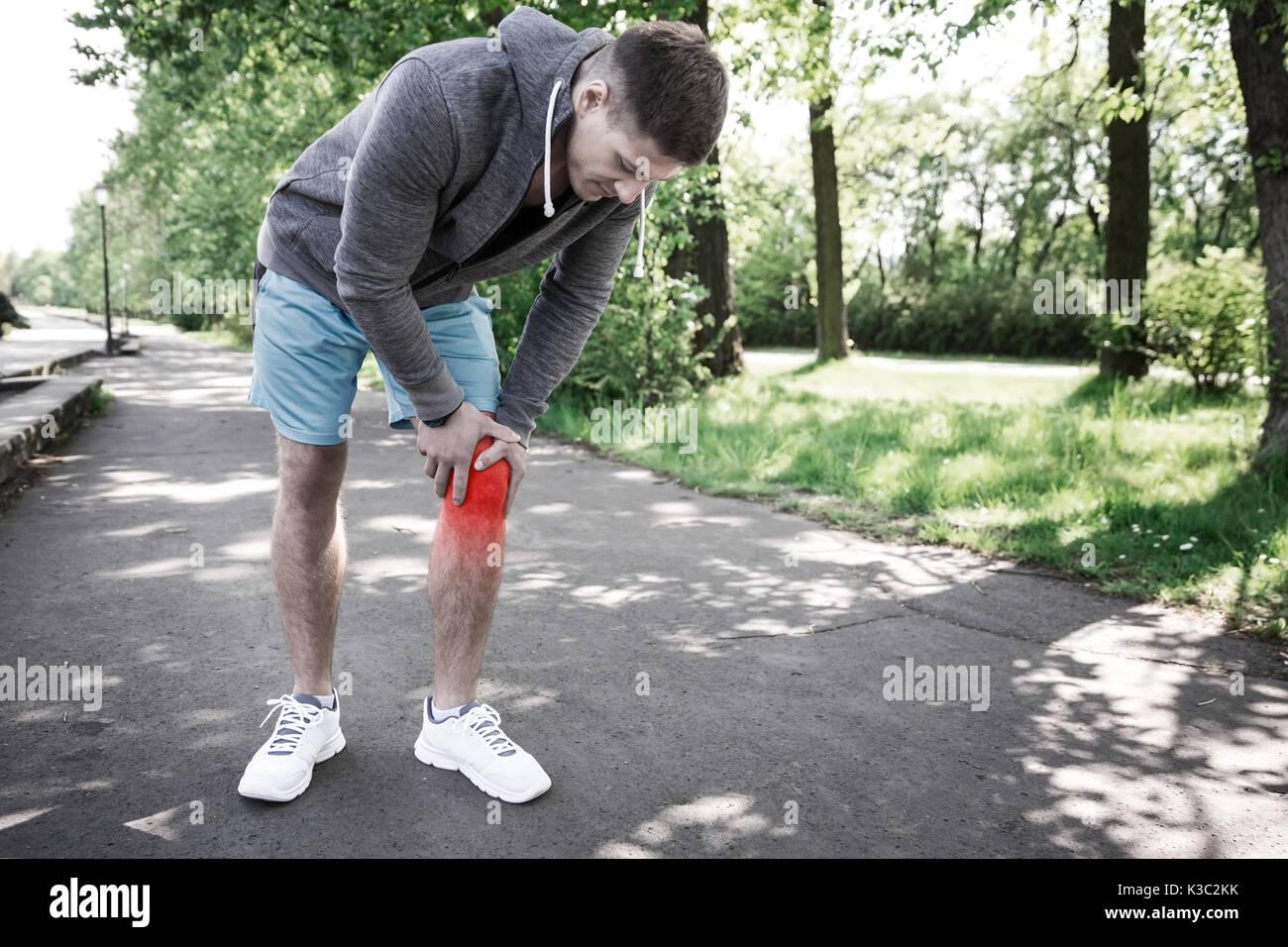 Jogging Shoes Bruised Heels