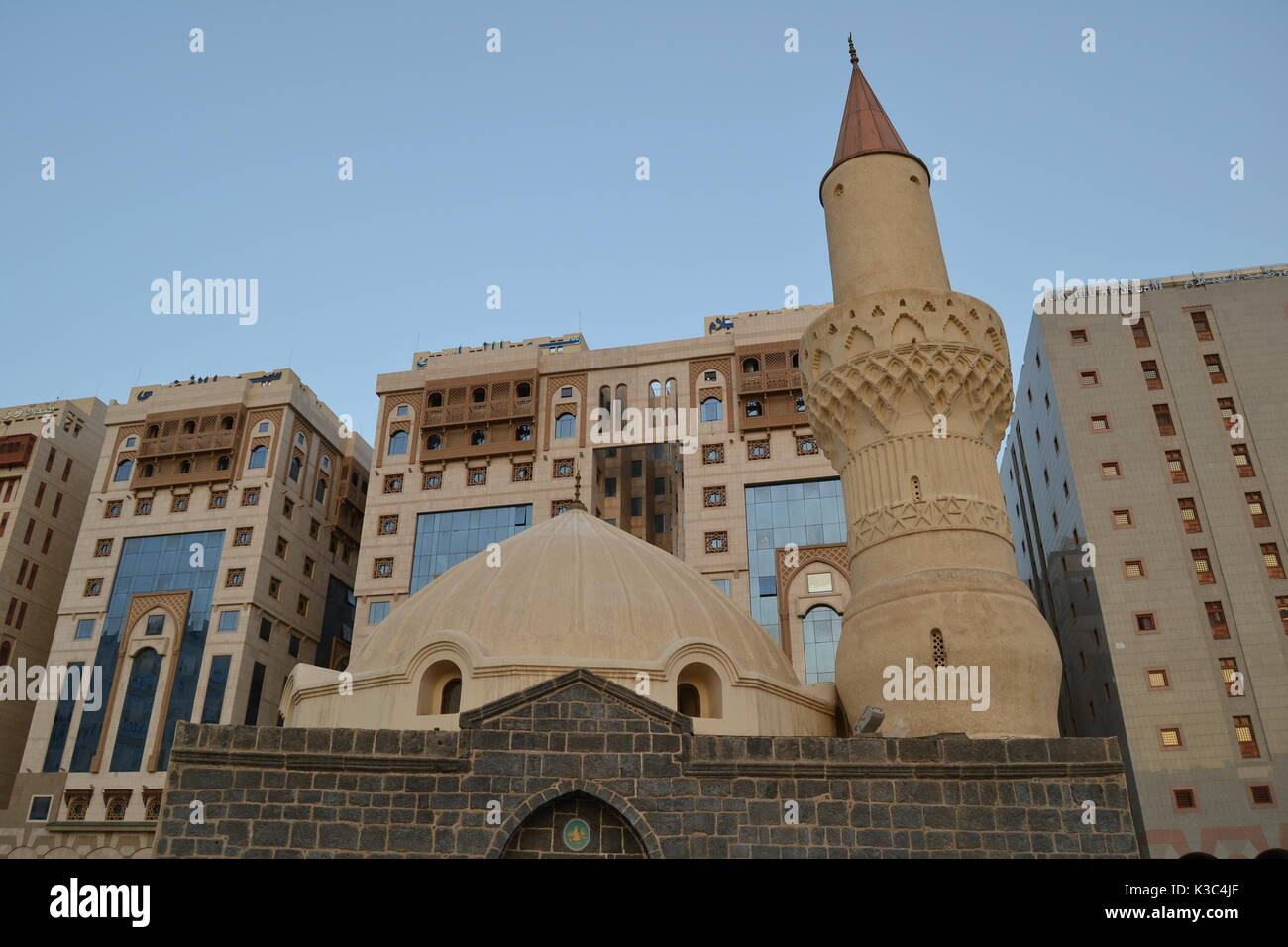 Omer mosque in madina - Stock Image