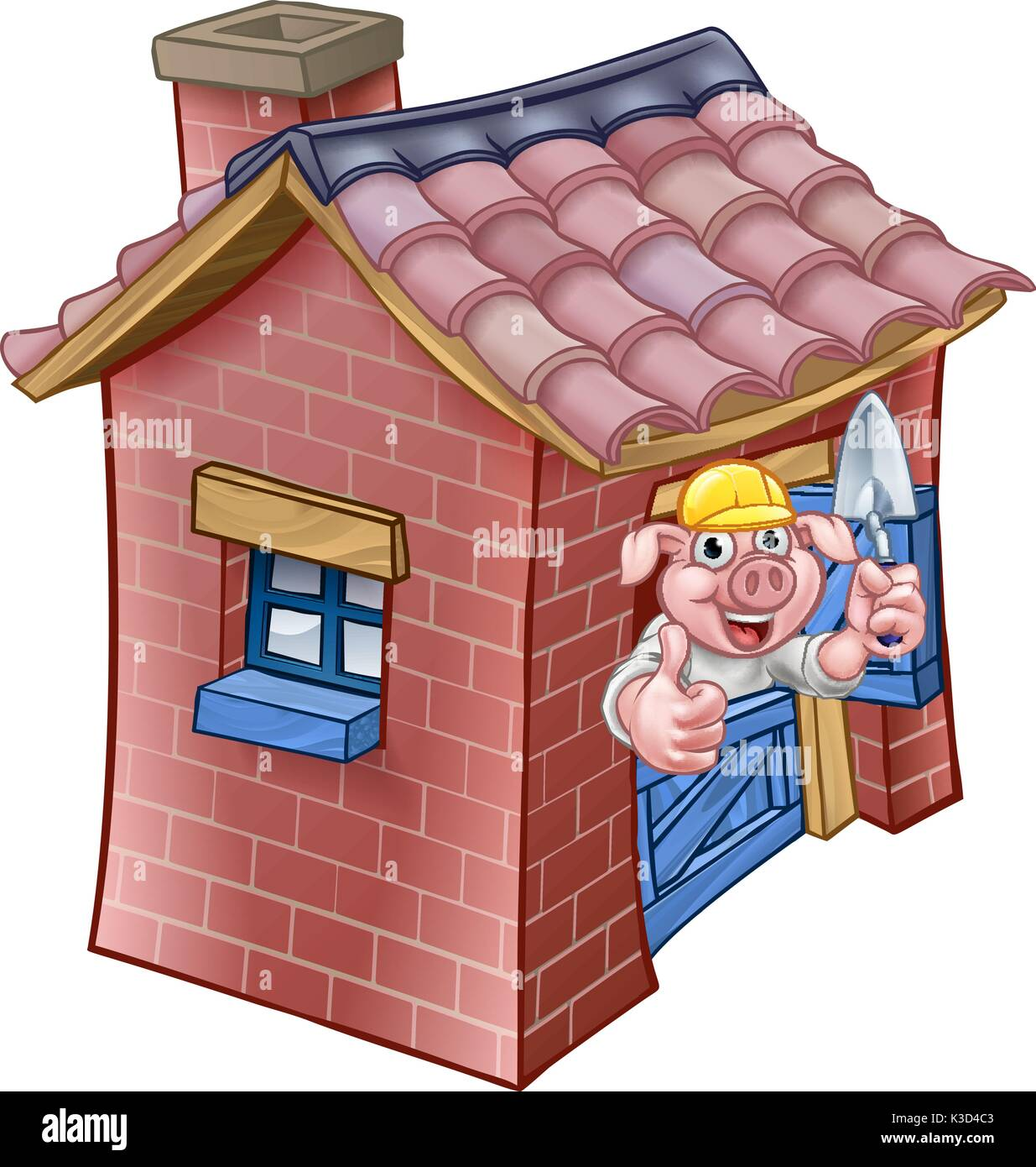 Three Little Pigs Straw House Stock Photos & Three Little Pigs Straw ...