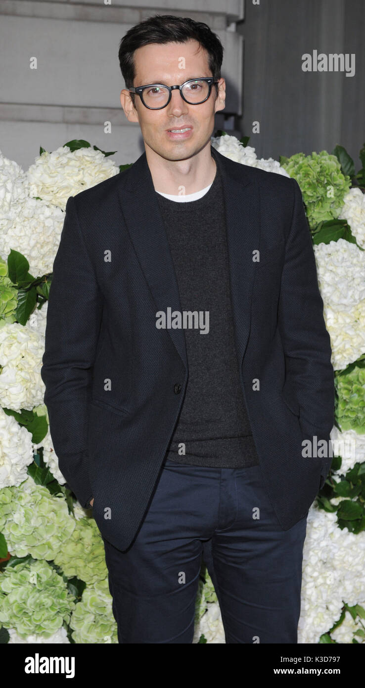 Photo Must Be Credited ©Alpha Press 079965 19/09/2016 Erdem Moralioglu at The Business of Fashion BoF500 held at The London EDITION Hotel in London. - Stock Image
