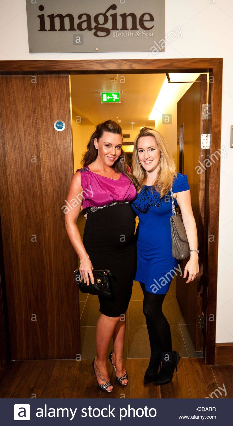michelle heaton and katie banks. various celebrities attended the