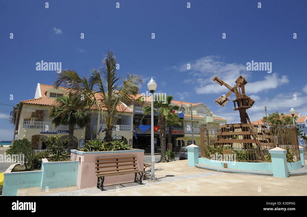 Santa Maria, island Sal, Cape Verde islands, Stock Photo
