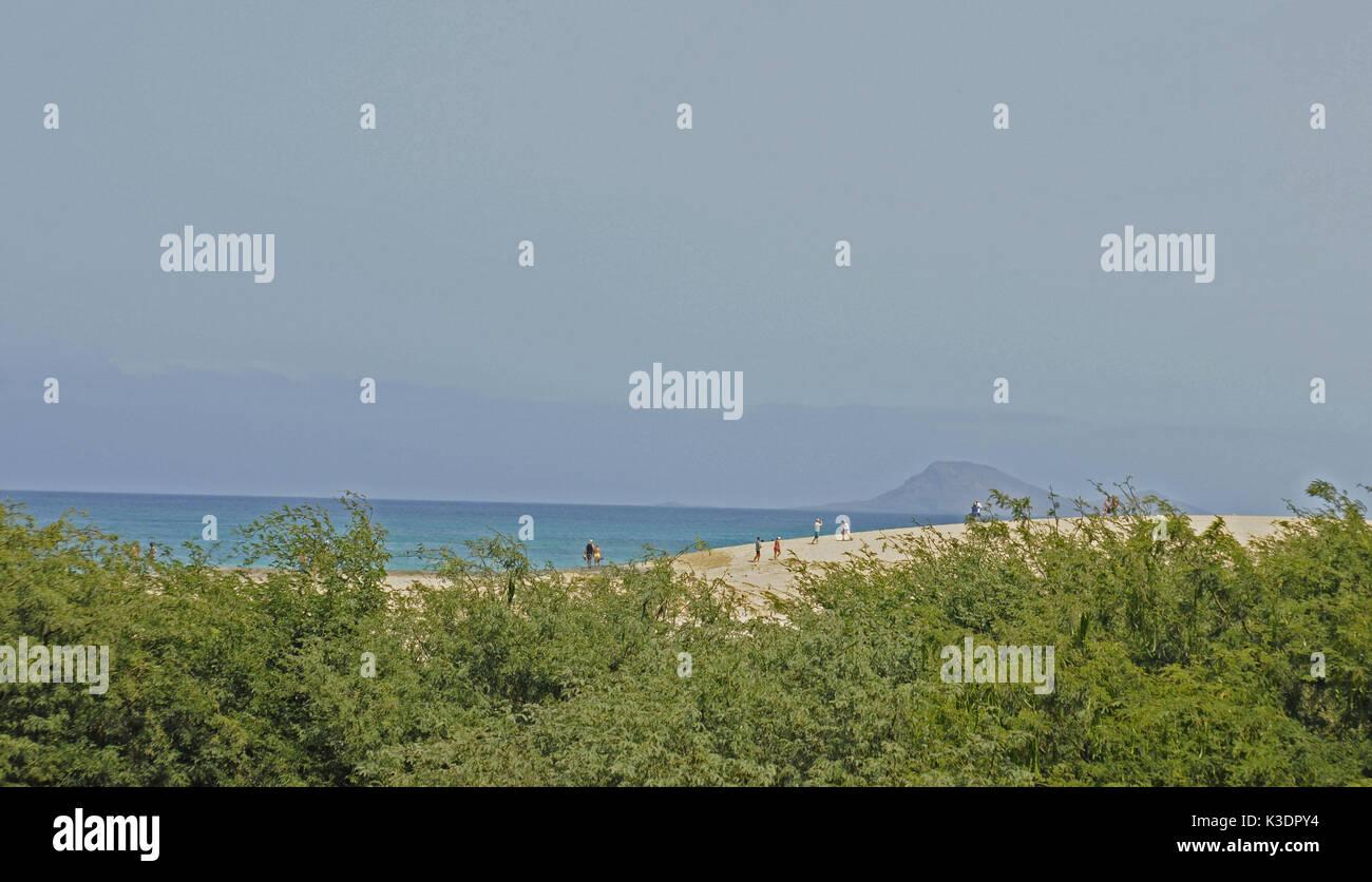 Ponta Preta brook, Santa Maria, island Sal, Cape Verde islands, cape Verde Stock Photo