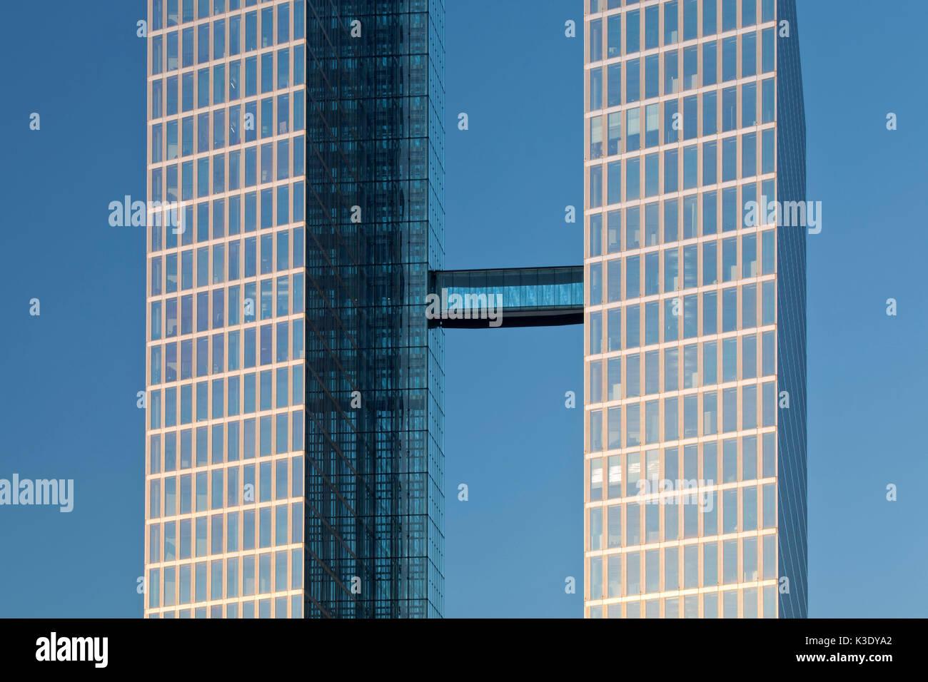Highlight Tower, Munich, Milbertshofen, Upper Bavaria, Bavaria, Germany, - Stock Image