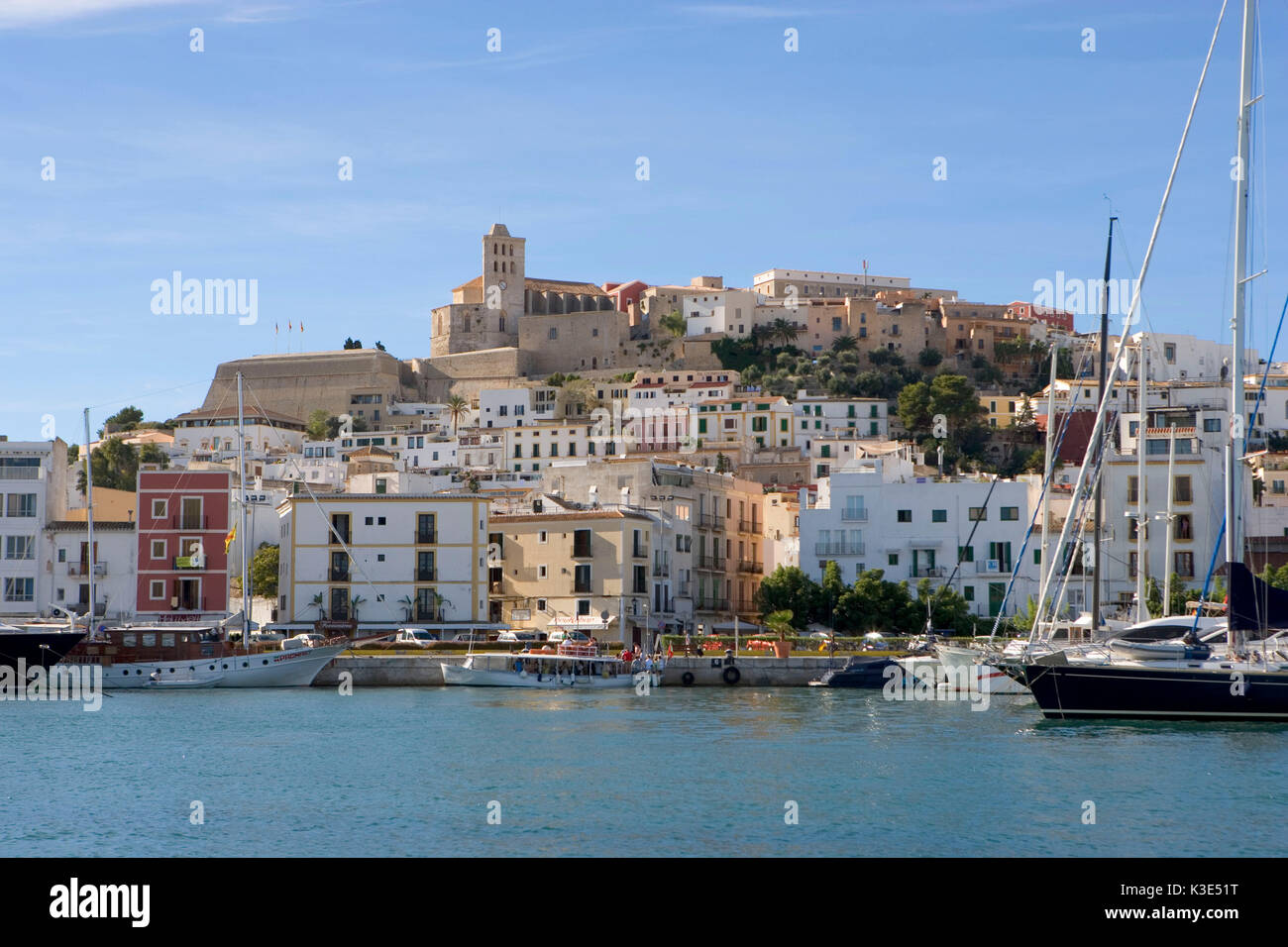 ibiza eivissa altstadt stock photos ibiza eivissa altstadt stock images alamy. Black Bedroom Furniture Sets. Home Design Ideas