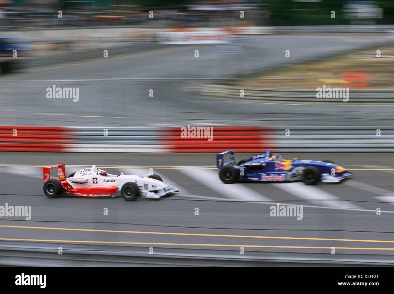 Formula 3 Car racing - Stock Image