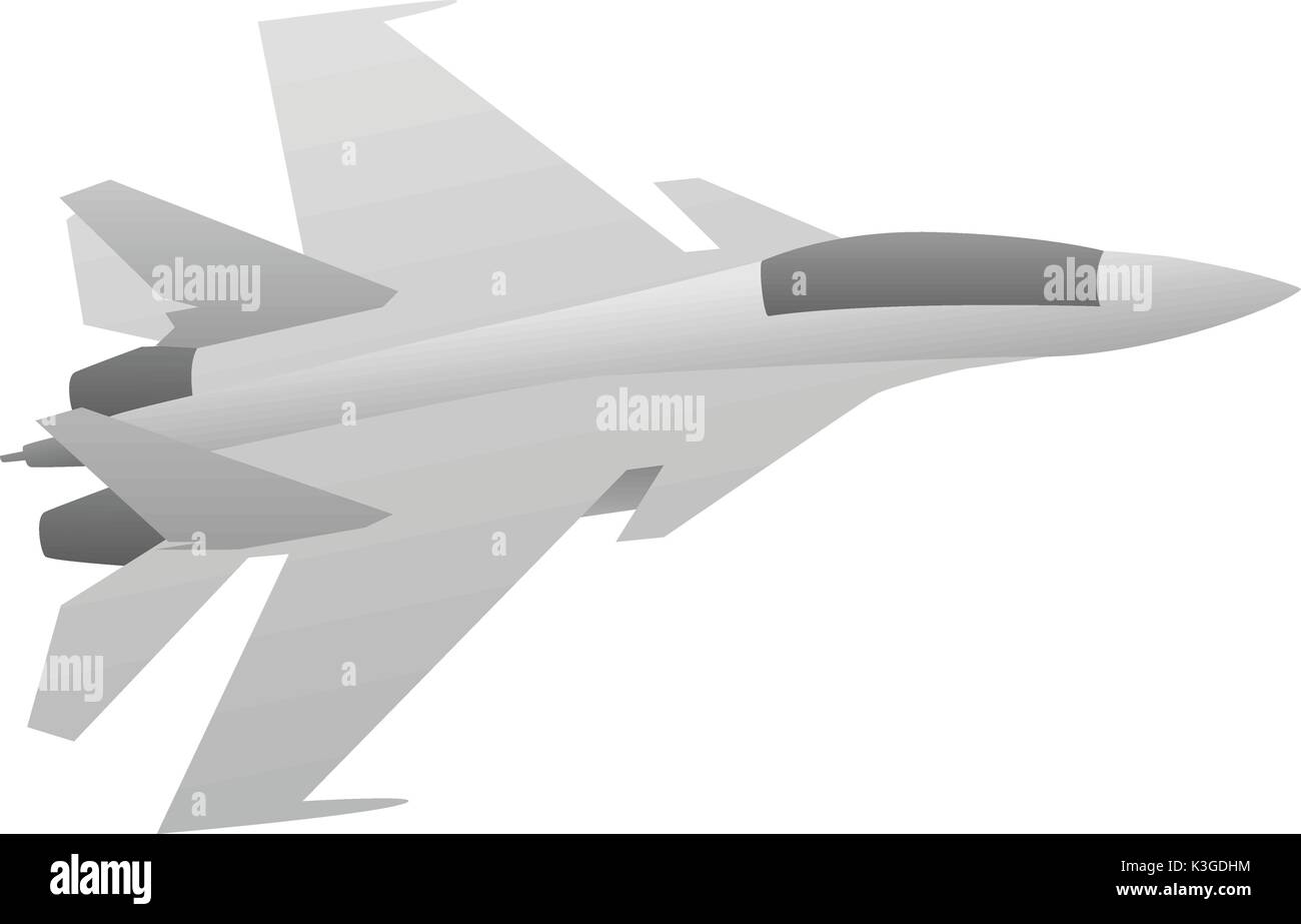 Military Fighter Jet Aircraft - Stock Image