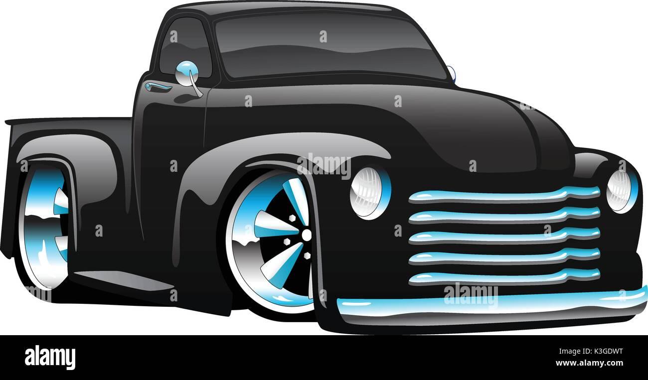 cartoon muscle car art