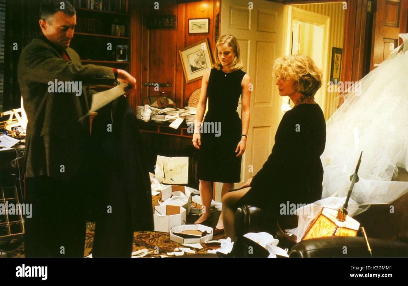 MEET THE PARENTS ROBERT DE NIRO, TERI POLO, BLYTHE DANNER     Date: 2000 - Stock Image