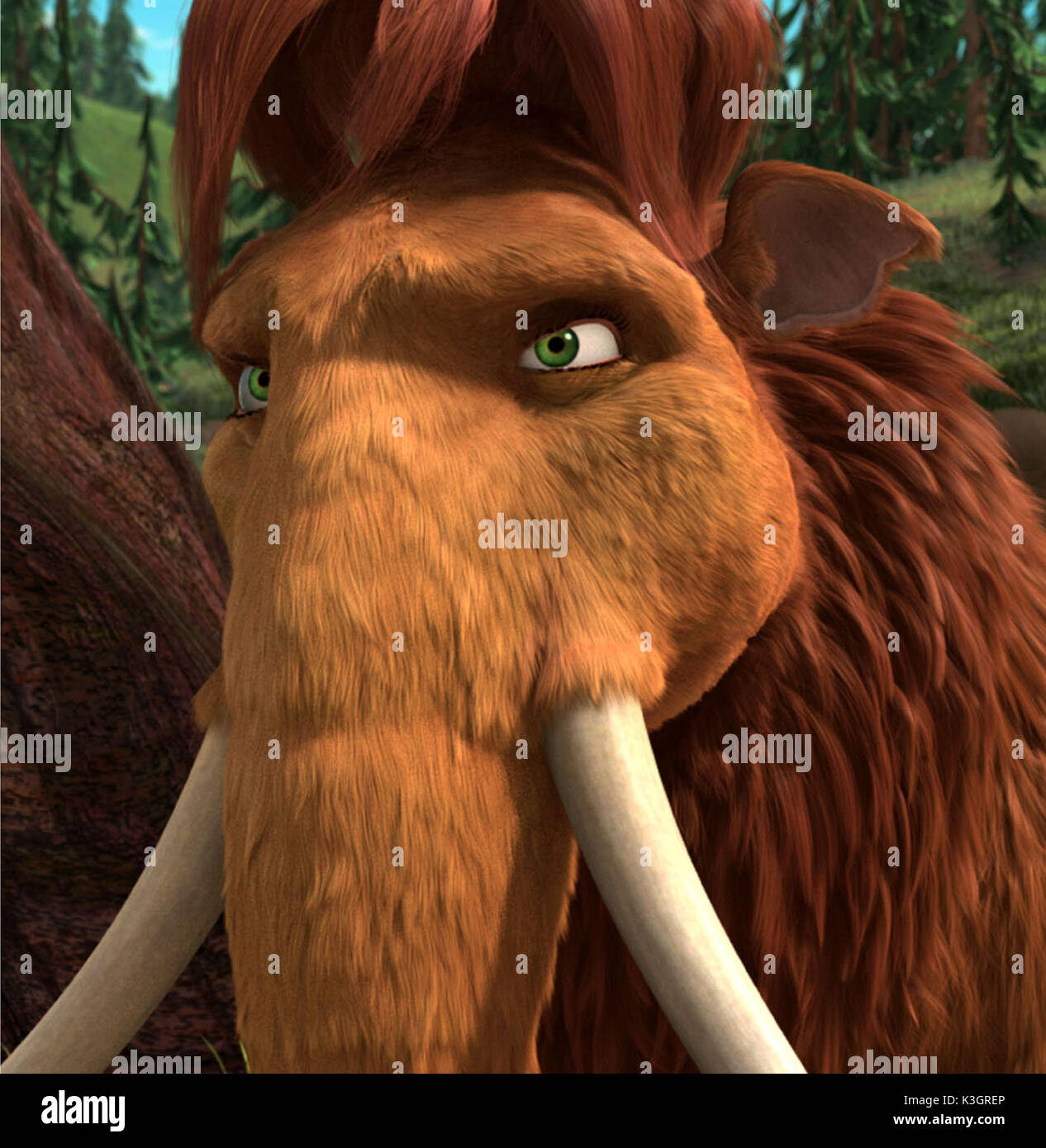 ice age 2 the meltdown queen latifah voices ellie date: 2006 stock