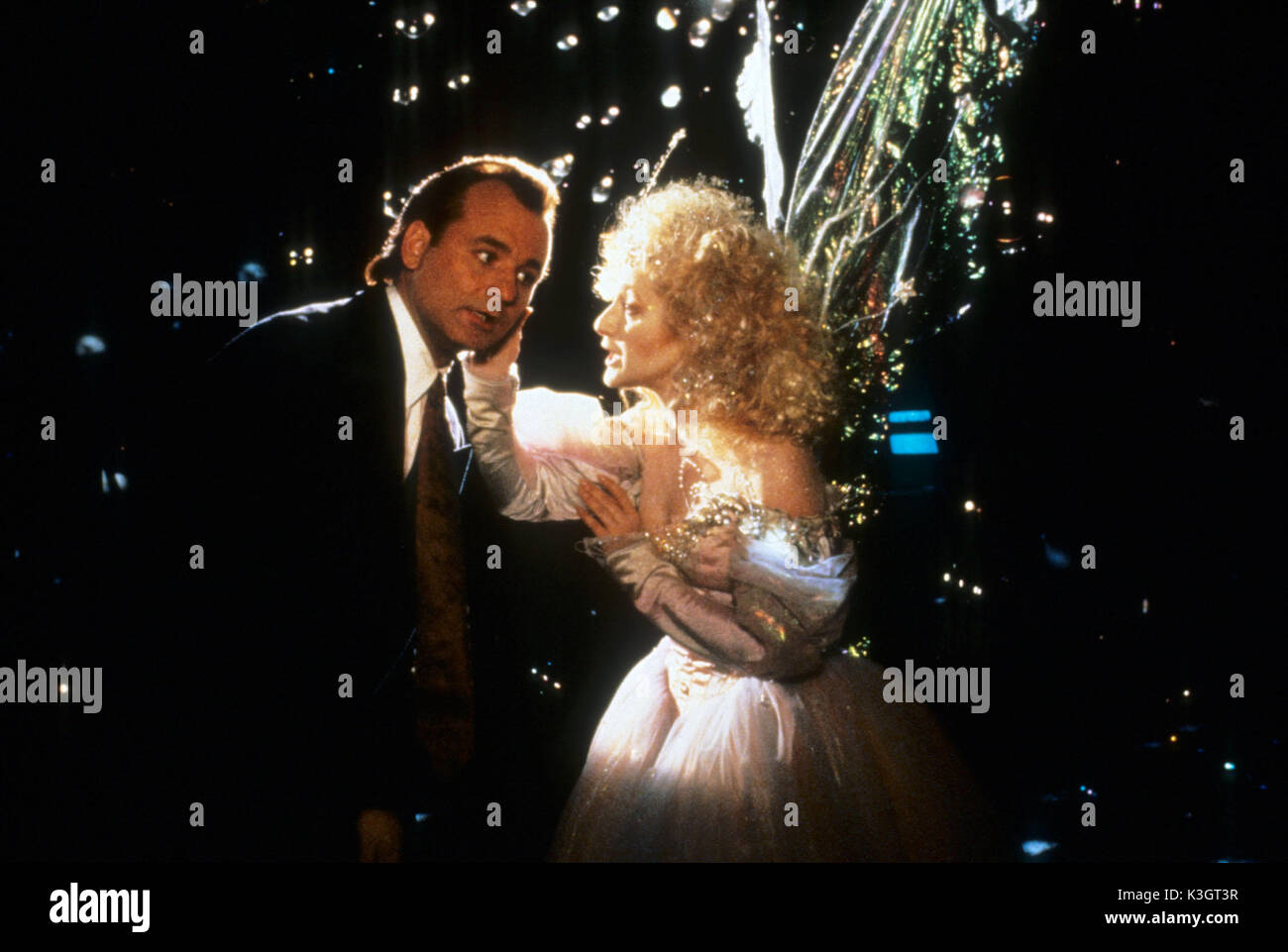 SCROOGED BILL MURRAY, CAROL KANE as the Ghost of Christmas Present ...