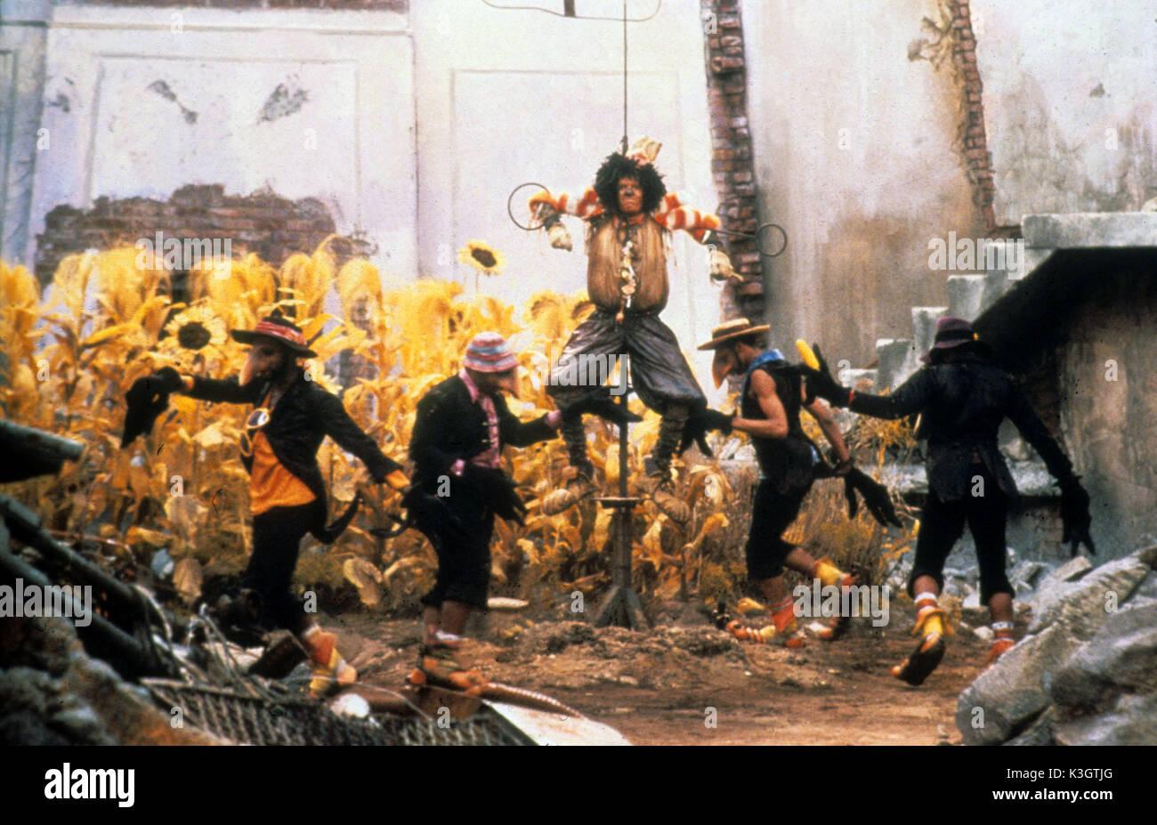 THE WIZ MICHAEL JACKSON as Scarecrow Date: 1978 Stock Photo